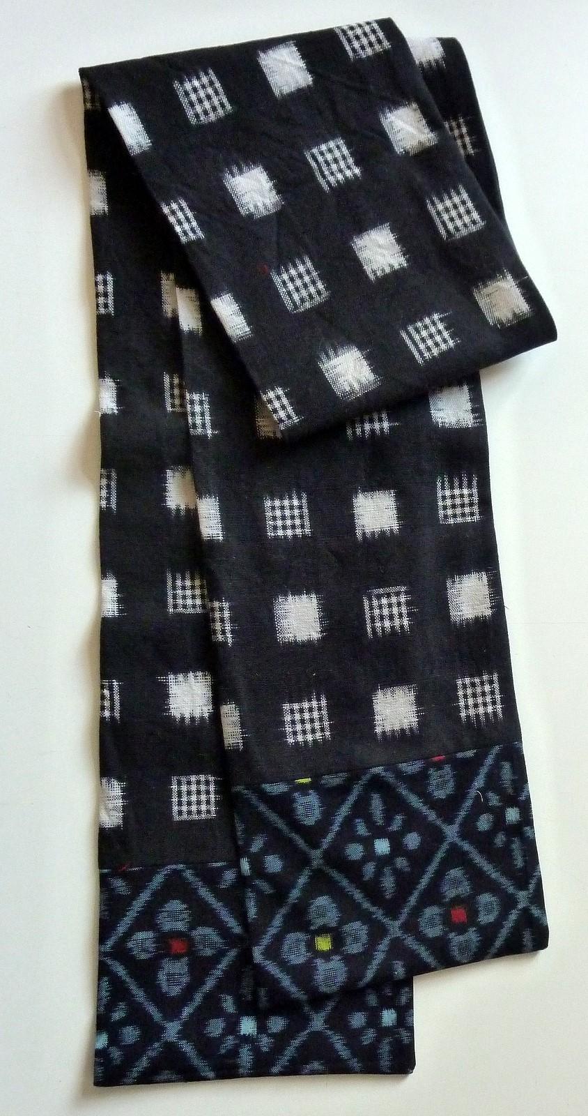 Kasuri Ikat Schal