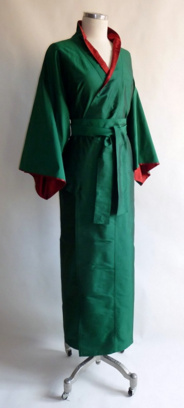 Kimono aus Seide